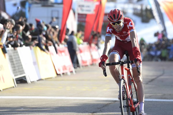 Роман Барде, Ильнур Закарин, Крис Фрум, Хью Карти и Фабио Ару о 3-м этапе Вуэльты Каталонии-2016