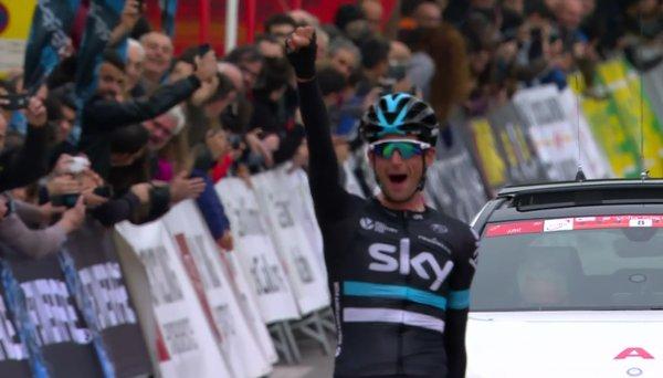 Wouter Poels (Sky) - победитель 5-го этапа Volta Ciclista a Catalunya-2016