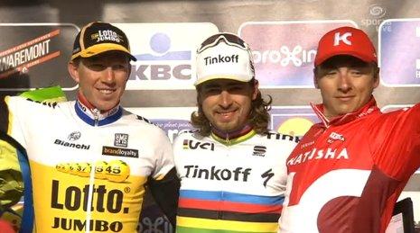 Петер Саган (Tinkoff) - победитель Гент-Вевельгем-2016