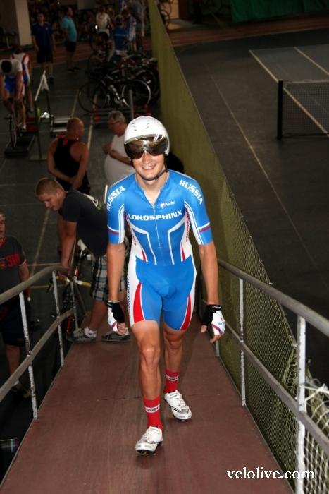«Олимпийская галерея»: Кирилл Свешников, велоспорт-трек, сборная России