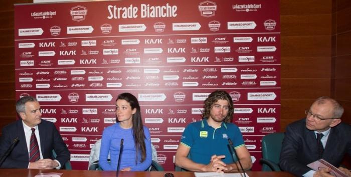 Чемпионы мира Петер Саган и Лиззи Армитстед о Страде Бьянке-2016