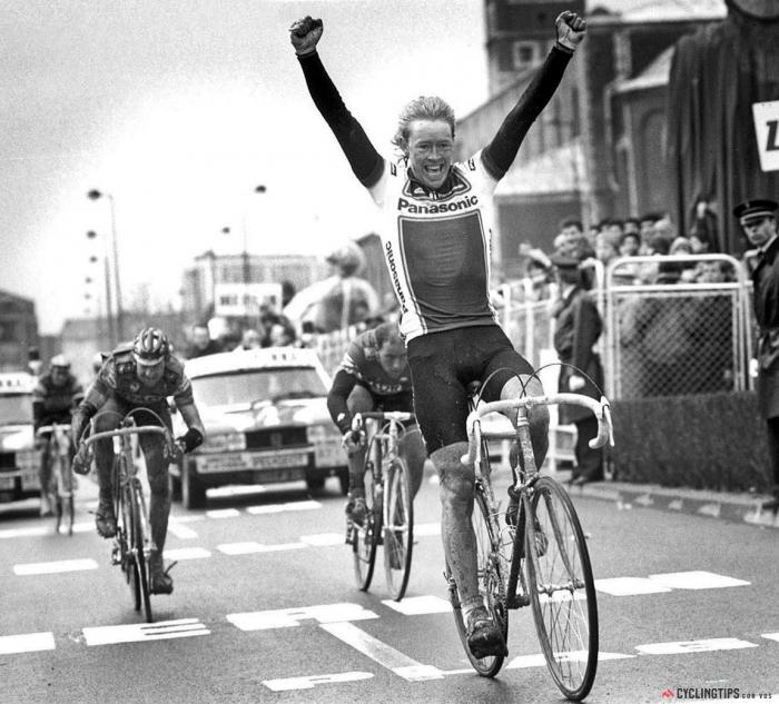 Страницы истории велоспорта: Париж-Рубэ-1987