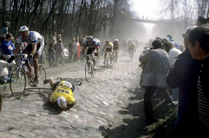 Страницы истории велоспорта: Париж-Рубэ-1988