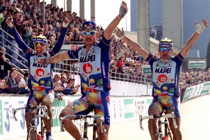Страницы истории велоспорта: Париж-Рубэ-1996