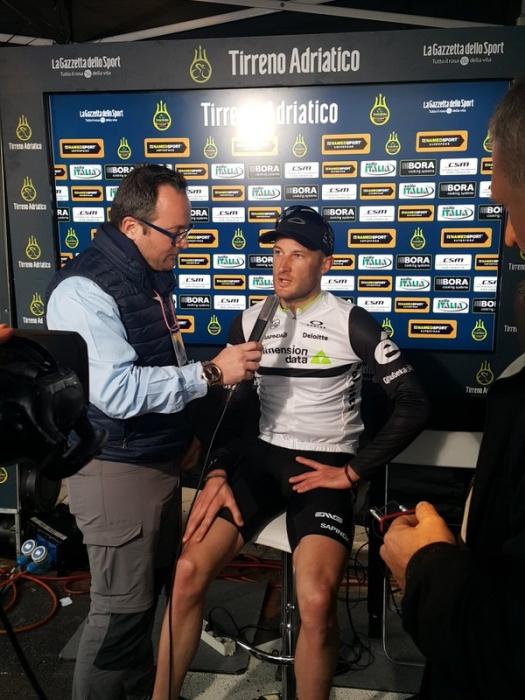 Стивен Каммингс (Dimension Data) - победитель 4 этапа Тиррено-Адриатико-2016