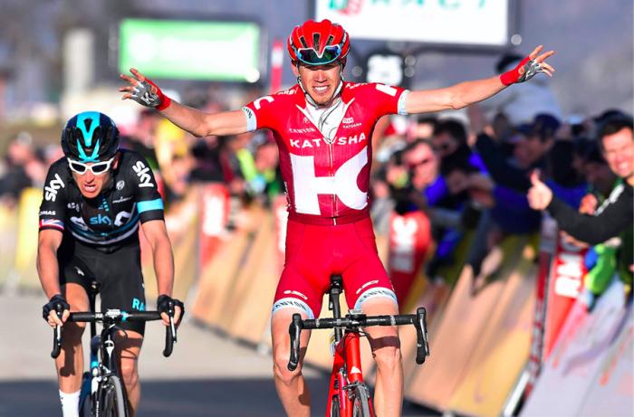 Ильнур Закарин выигрывает королевский этап гонки Париж-Ницца-2016