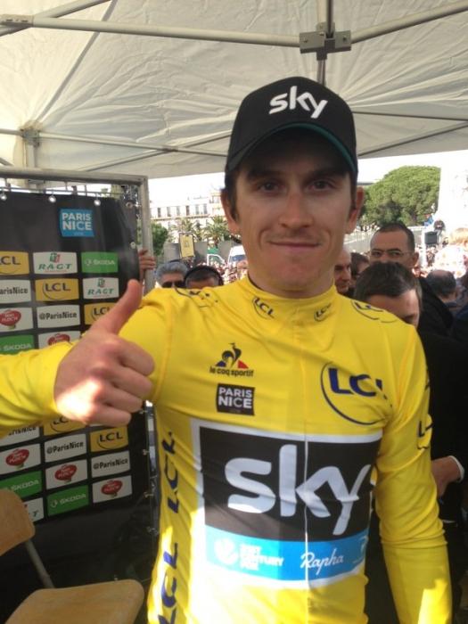 Герант Томас (Sky) – победитель гонки Париж-Ницца-2016