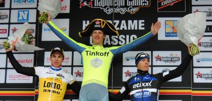 Эрик Башка приносит команде «Тинькофф»  победу в Бельгии