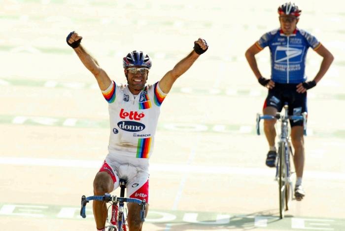 Страницы истории велоспорта: Париж-Рубэ-2003