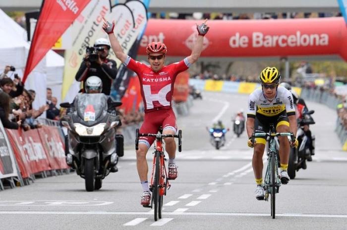 Алексей Цатевич одерживает первую победу в Мировом Туре