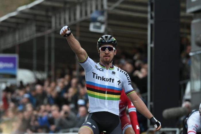 Петер Саган одержал победу на классике Гент-Вевельгем-2016 и возглавил рейтинг «Мирового тура»