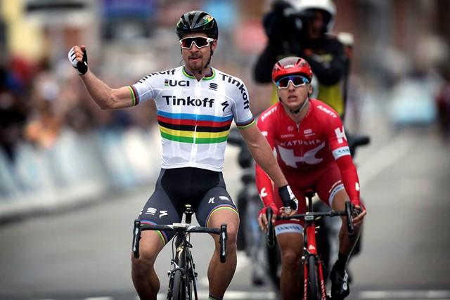 Петер Саган будет лидером «Тинькофф» на «Туре Фландрии»