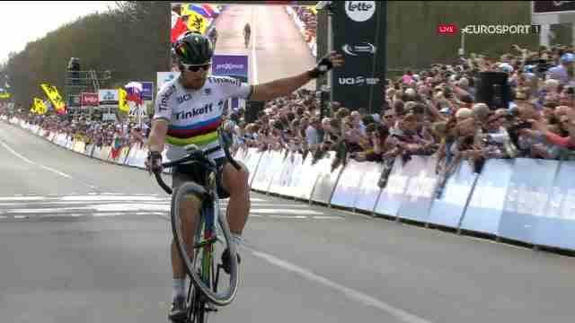 Петер Саган (Tinkoff) – победительRonde van Vlaanderen-2016