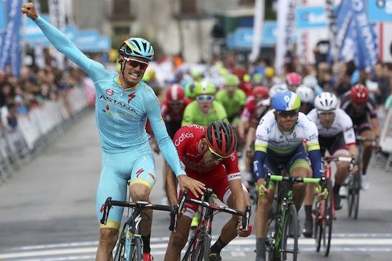 Luis Leon Sanchez (Astana): «Я стал лидером общего зачёта, но капитан команды - Фабио Ару»