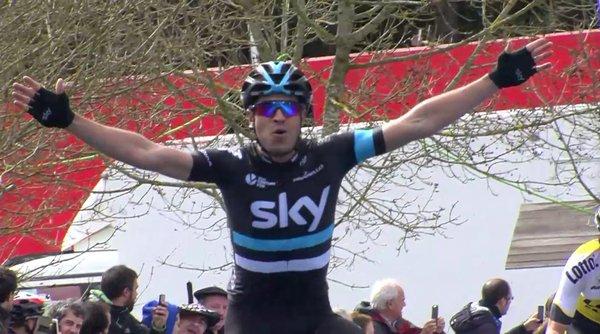 Микель Ланда (Sky) – победитель 2 этапа Тура Страны Басков-2016