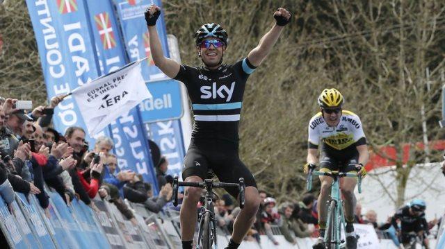 Микель Ланда и Вилко Келдерман о 2-м этапе Vuelta Ciclista al Pais Vasco-2016