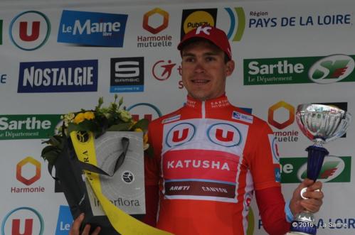 Антон Воробьев выигрывает индивидуальную гонку Circuit Cycliste Sarthe-2016