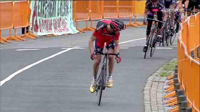 Samuel Sanchez (BMC) – победитель 4 этапа Vuelta Ciclista al Pais Vasco-2016