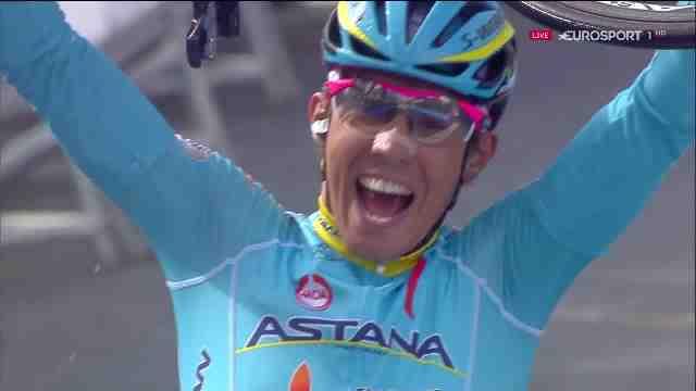Диего Роса (Astana) – победитель 5 этапа Vuelta Ciclista al Pais Vasco-2016