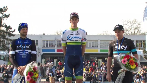 Mathew Hayman (Orica-GreenEDGE) – победитель Paris-Roubaix-2016