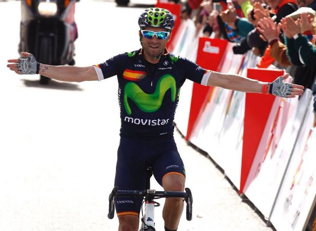 Алехандро Вальверде (Movistar) - победитель Vuelta a Castilla y Leon-2016