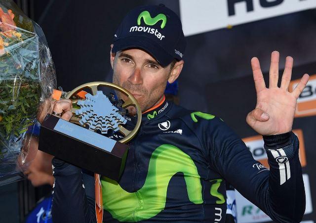Alejandro Valverde - первый в истории четырёхкратный победитель La Fleche Wallonne