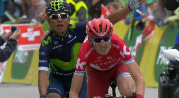 Наиро Кинтана (Movistar) – победитель 2-го этапа Тура Романдии-2016