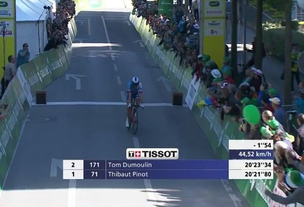 Thibaut Pinot (FDJ) - победитель 3-го этапа Tour de Romandie-2016