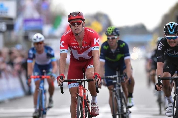 Александр Кристофф финиширует четвертым на Туре Фландрии-2016