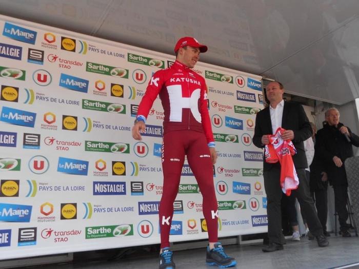 Circuit Cycliste Sarthe-2016. Антон Воробьев – триумфатор 3-го этапа