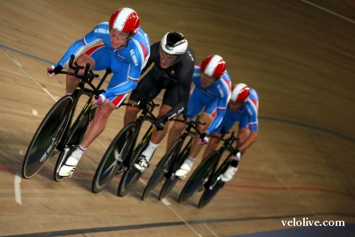 Олимпийская галерея: Сергей Шилов, велоспорт-трек, сборная России