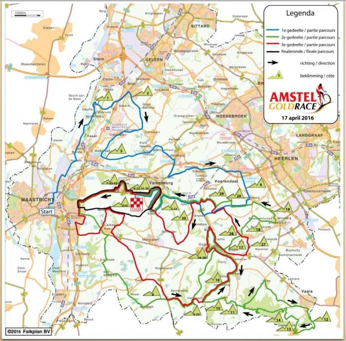 Амстел Голд Рэйс-2016: маршрут и претенденты