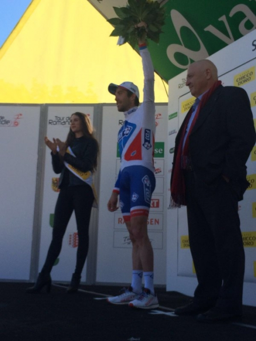 Тибо Пино (FDJ) - победитель 3-го этапа Тура Романдии-2016