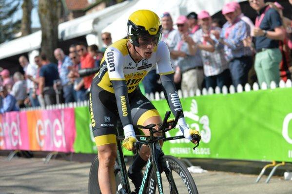 Primoz Roglic, Andrey Amador, Tobias Ludvigsson, Marcel Kittel, Fabian Cancellara о 1-м этапе Giro d'Italia-2016