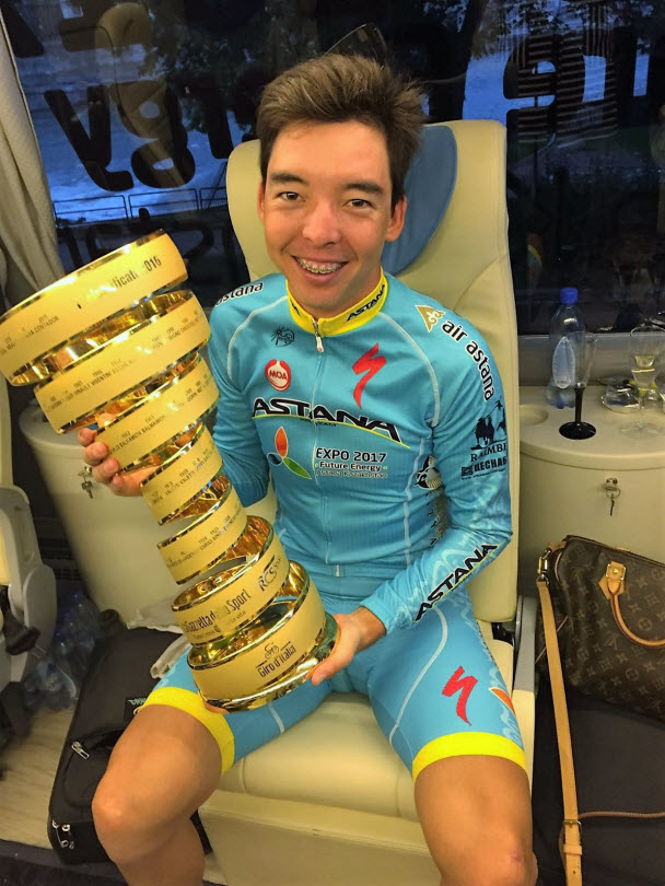 "Бахтияр Кожатаев: ""Джиро д'Италия научила меня не сдаваться до самого конца"""
