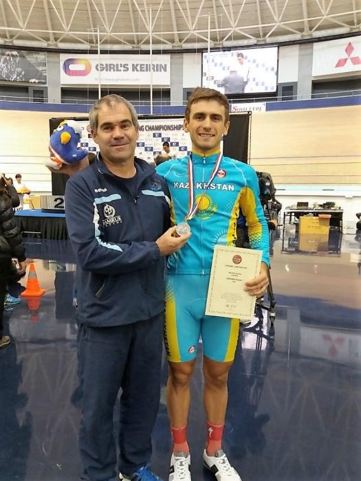 «Олимпийская галерея»: Артём Захаров, велоспорт-трек, сборная Казахстана