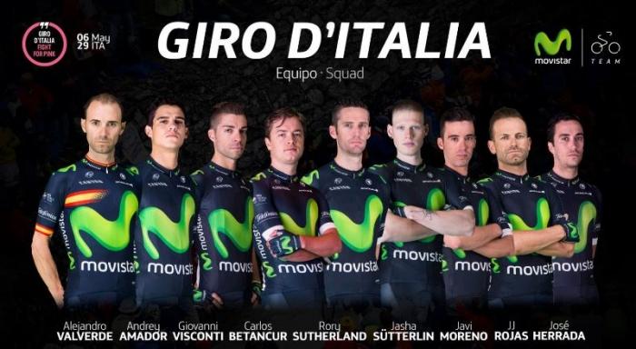 Алехандро Вальверде о составе команды Movistar и Джиро д'Италия-2016