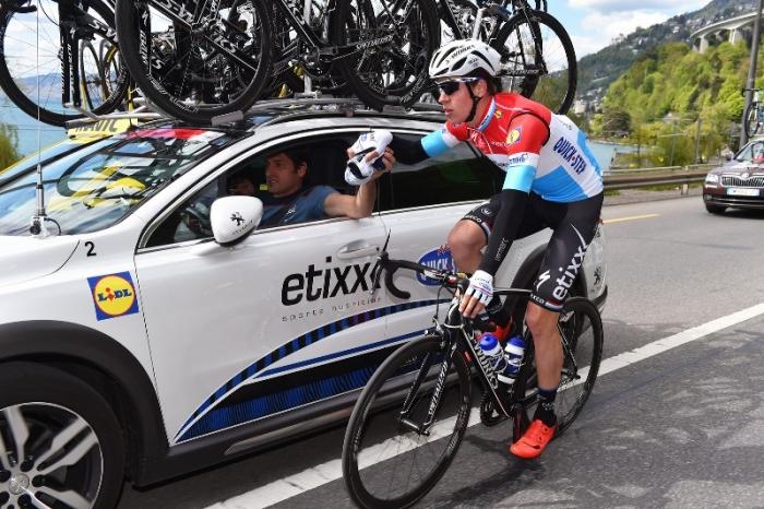 Состав команды Etixx-Quick Step на Джиро д'Италия-2016