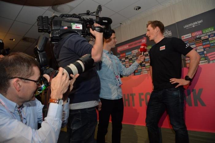 """Андре Грайпель: """"На Джиро д'Италия-2016 для спринтеров есть 6 - 7 этапов"""""""