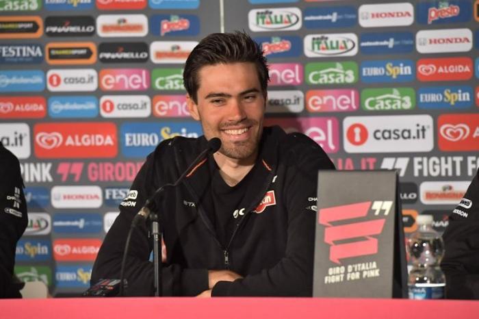 Том Дюмулин: «На разделках Джиро д'Италия-2016 мой основной соперник - Фабиан Канчеллара»