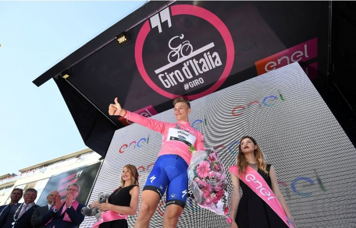 Джиро д'Италия-2016. Результаты 3 этапа
