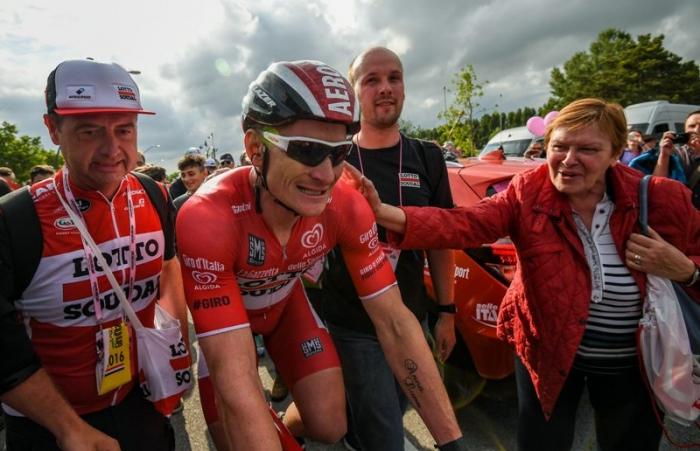 Джиро д'Италия-2016. Результаты 12 этапа