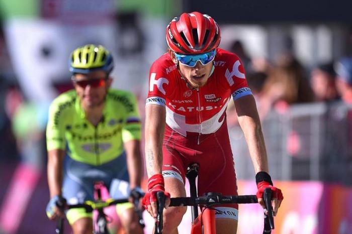 Ильнур Закарин о 14-м этапе Джиро д'Италия-2016