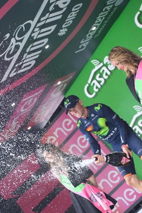 Алехандро Вальверде (Movistar) – победитель 16-го этапа Джиро д'Италия-2016