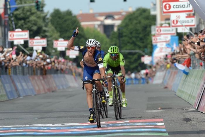 Джиро д'Италия-2016. Результаты 18 этапа