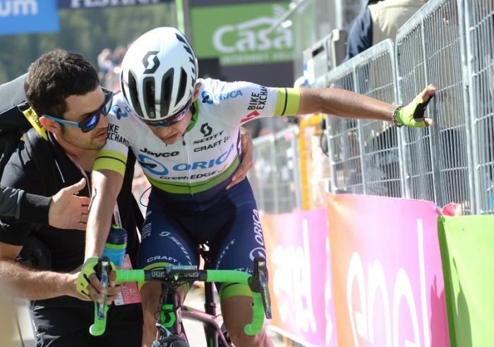 Джиро д'Италия-2016. Результаты 19 этапа