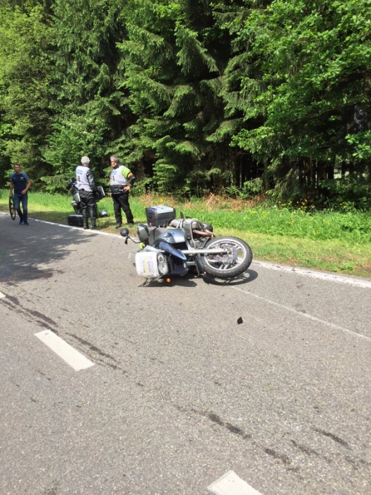 Этап Тура Бельгии отменён из-за инцидента с мотоциклами