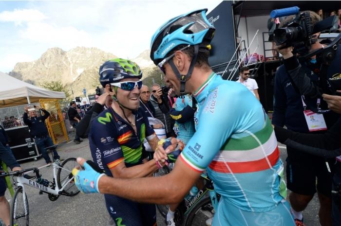 Джиро д'Италия-2016. Результаты 20 этапа