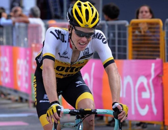 Стевен Крёйсвейк о 20-м этапе Джиро д'Италия-2016