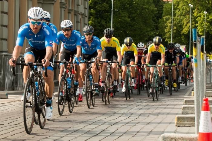 Роман Майкин - победитель этапа Тура Эстонии